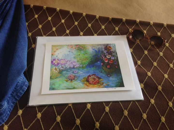 The painting I received from the Three Rivers Arts Festival.